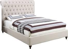Tufted Sleigh Bed House Of Hampton Hunstanton Upholstered Sleigh Bed U0026 Reviews Wayfair