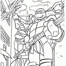 teenage mutant ninja turtles coloring pages board