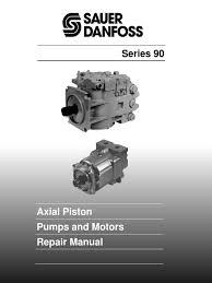 90 series variable pumps and motors repair manual bln 9949 rev e