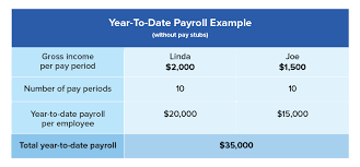 what is year to date payroll and why does it matter