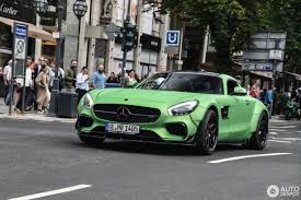 green mercedes green prior design mercedes amg gt s screams hulk