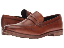 cole haan hamilton grand penny in brown for men lyst