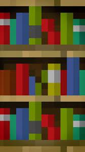 15 Bookshelves Minecraft Minecraft Bookshelf Galaxy S3 Wallpaper 720x1280 Wallpapers