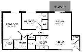 Two Bedroom Apartment Floor Plans Apartment Layouts Roanoke Street Apartments
