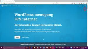 tutorial membuat website gratis untuk pemula cara membuat website gratis dengan wordpress untuk pemula mari berbagi