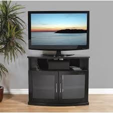 Simple Tv Cabinet With Glass Plateau Newport 40