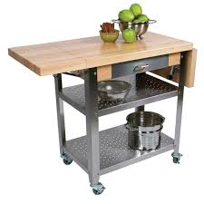 Kitchen Carts  Pot Racks Costco - Kitchen cart table
