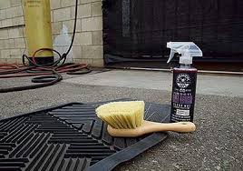 chemical guys rubber and vinyl floor mat cleaning kit 5 items