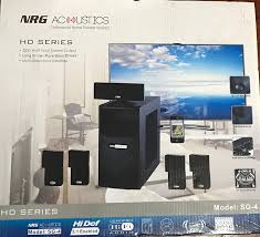 wireless surround sound home theater systems amazon com nrg acoustics hd series professional home theater