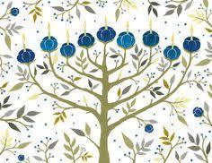 of david ornament menorah hanukkah decoration hanukkah