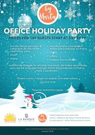 make your office holiday party reservations u2013 affairs