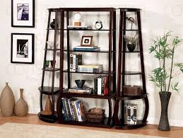 2 piece bookcase in cappuccino finish by coaster 800240 2