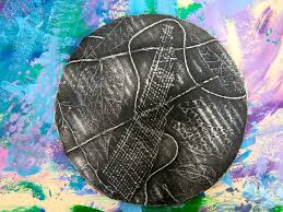 cassie stephens in the art room texture relief with second grade
