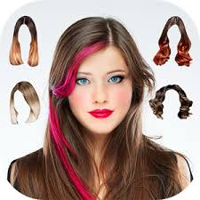 hair color simulator hair changer woman android apps on google play