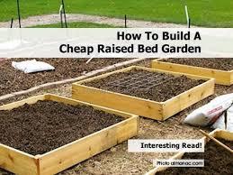 inexpensive raised garden bed ideas best garden design ideas