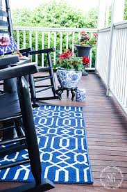 how to choose and care for an outdoor rug stonegable