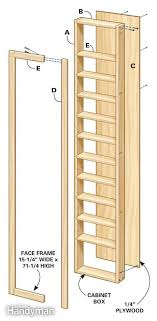 how to make a storage cabinet 329 best between the studs images on pinterest organization ideas