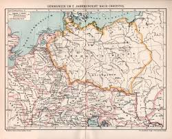 germania map 1898 magna germania map empire in the 2nd by craftissimo