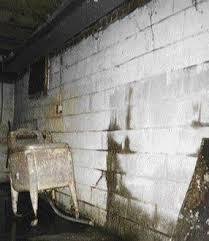 Mold On Basement Walls Cinder Block - stabilizing basement walls with steel i beams