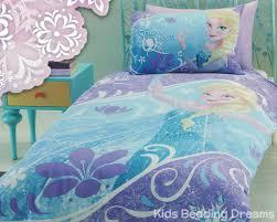 Frozen Comforter Queen Elsa The Snow Queen Quilt Cover Set Frozen Bedding Kids