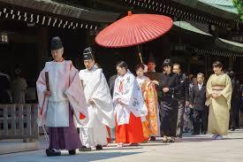 japanese shinto wedding ceremony editorial stock image image