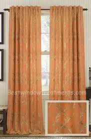 Grommet Burlap Curtains Azure Royal Curtain Panel Available In 6 Color Choices