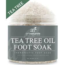 artnaturals tea tree foot soak salt with epsom salt 20 oz fights