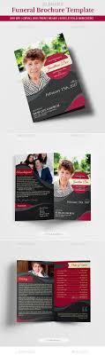 funeral program printing funeral program brochure template 05 by creativesource online