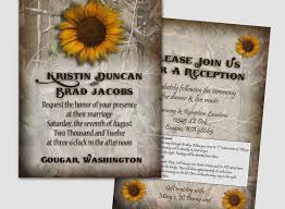 camo wedding invitations sunflower wedding invitations best of camo wedding invitation