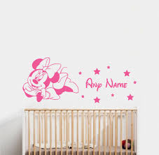 compare prices on childrens bedroom decals online shopping buy minnie mouse name wall sticker childrens bedroom vinyl decal china mainland