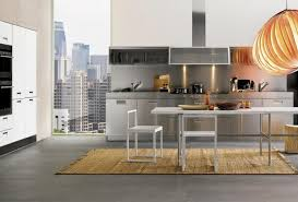 awesome italian kitchen designed snaidero baytownkitchen exciting italian modern kitchen with silver cabinetry aside the glass wall also simply dining table