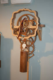 212 wooden gear clock the wood whisperer