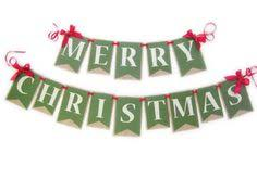 merry christmas banner believe christmas banner candy reds by whatevershandmades