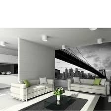 wall art thehut com new york s brooklyn bridge and city skyline wall mural