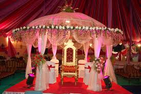 decorations for indian wedding indian weddings grand pink mandap indian wedding decorations
