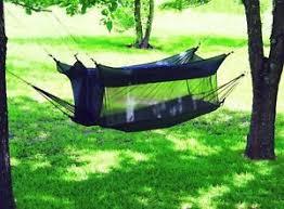 hammock w mosquito net tent combo shelter camping rv fishing