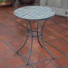 Blue Mosaic Bistro Table by Coral Coast Marina Mosaic Bistro Table Hayneedle
