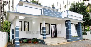 Two Bedroom Design Economic Level Of House A Plant Two Bedrooms And 84 Square Metres