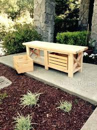 outdoor wooden bench seat with storage best 25 storage benches