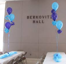 Wall Decoration With Balloons by Party People Event Decorating Company Melody Bat Mitzvah Temple