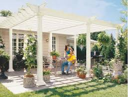 How To Build A Wood Patio by Build Your Own Backyard Diy Pergola