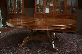 astonishing ideas big dining tables large round dining table large