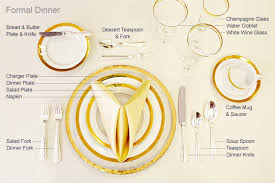 Formal Setting Of A Table Table Setting Tips