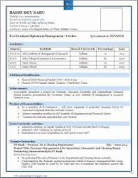 mba resume format doc fresh resume format word 11 mba marketing