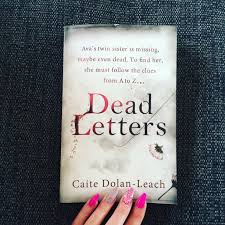 Appreciation Letter Sister dead letters by caite dolan leach bibliophile book club