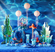 Pool Party Ideas Finding Dory Inspired Pool Party Finding Dory Dessert Table And