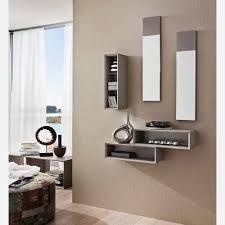 arredare ingresso moderno ingresso con specchiera e mensole pr603 emporio3