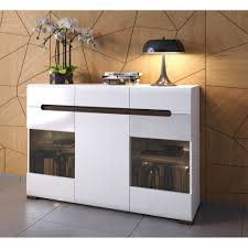 sideboard cabinet black red white azteca led light up sideboard cabinet ebay