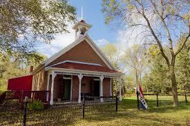 the one room church house
