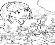barbie thumbelina coloring pages barbie mariposa 05 coloring pages printable